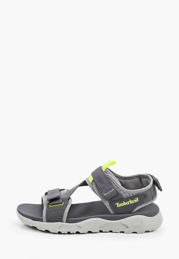 мужские сандалии timberland, серые