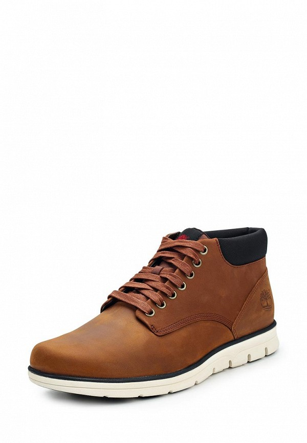 Фото 6 - мужские ботинки и полуботинки Timberland коричневого цвета
