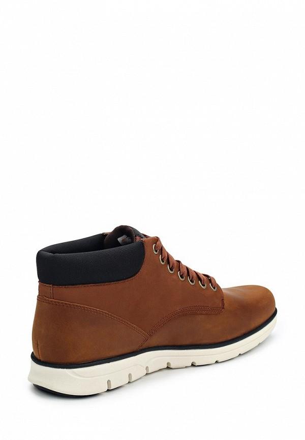Фото 7 - мужские ботинки и полуботинки Timberland коричневого цвета