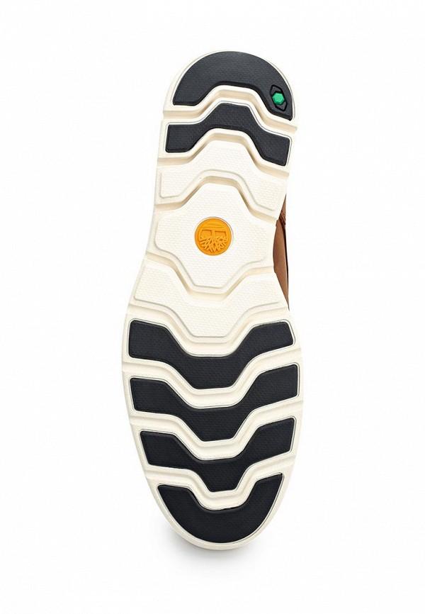 Фото 8 - мужские ботинки и полуботинки Timberland коричневого цвета