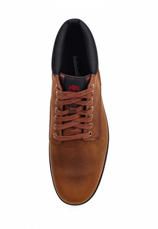 Фото 9 - мужские ботинки и полуботинки Timberland коричневого цвета