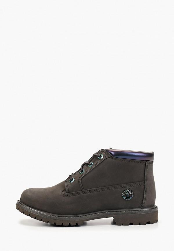 женские ботинки timberland, хаки