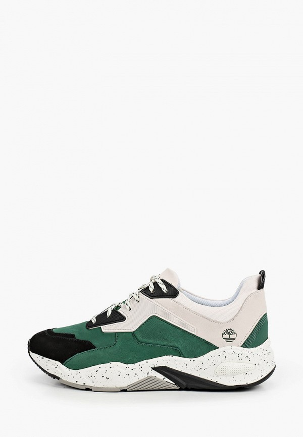 женские низкие кроссовки timberland, зеленые
