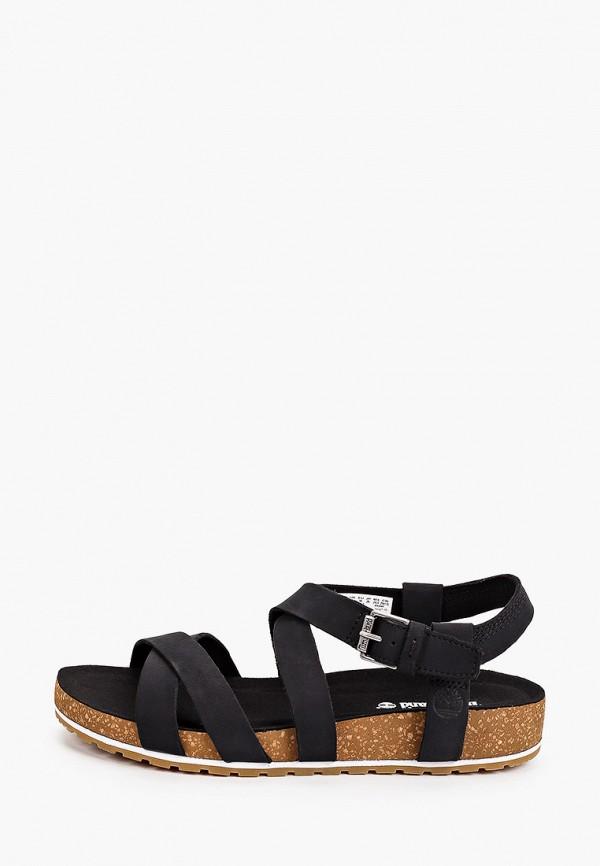 женские сандалии timberland, черные