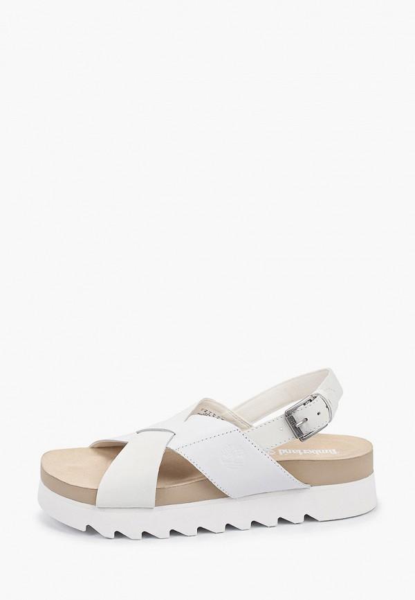 женские сандалии timberland, белые