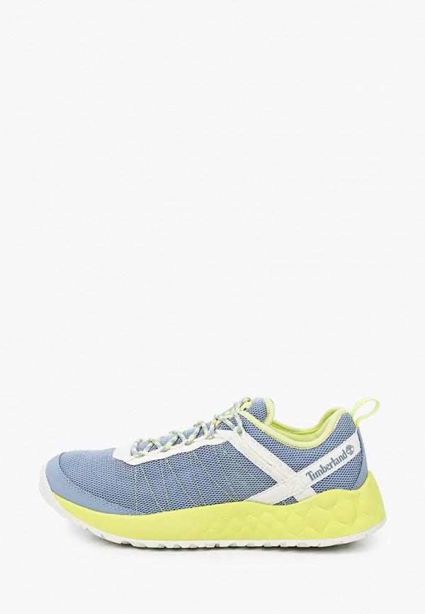 женские кроссовки timberland, голубые