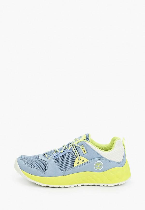 женские низкие кроссовки timberland, голубые