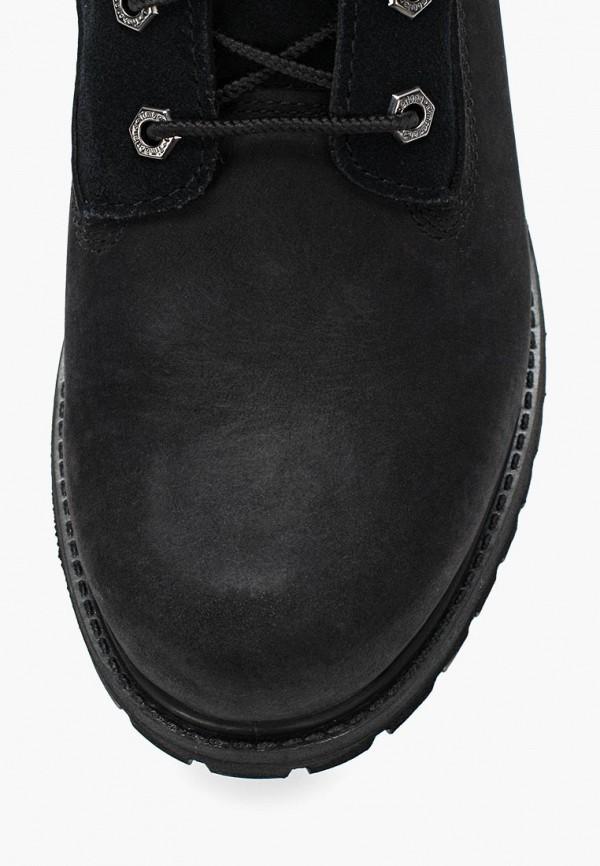 Фото 10 - женские ботинки и полуботинки Timberland черного цвета