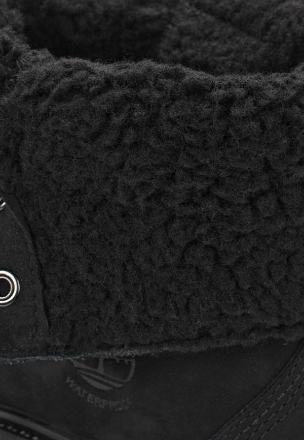 Фото 5 - женские ботинки и полуботинки Timberland черного цвета
