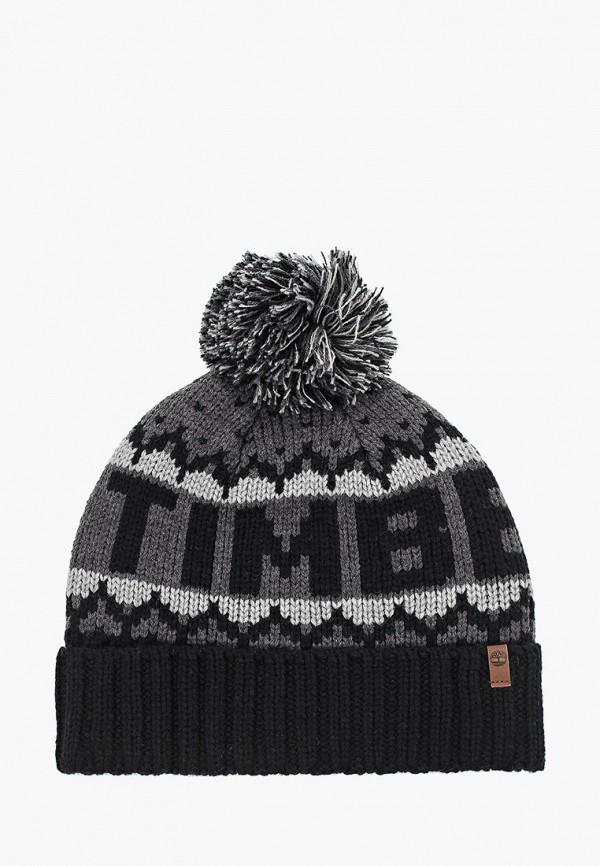 мужская шапка timberland, черная