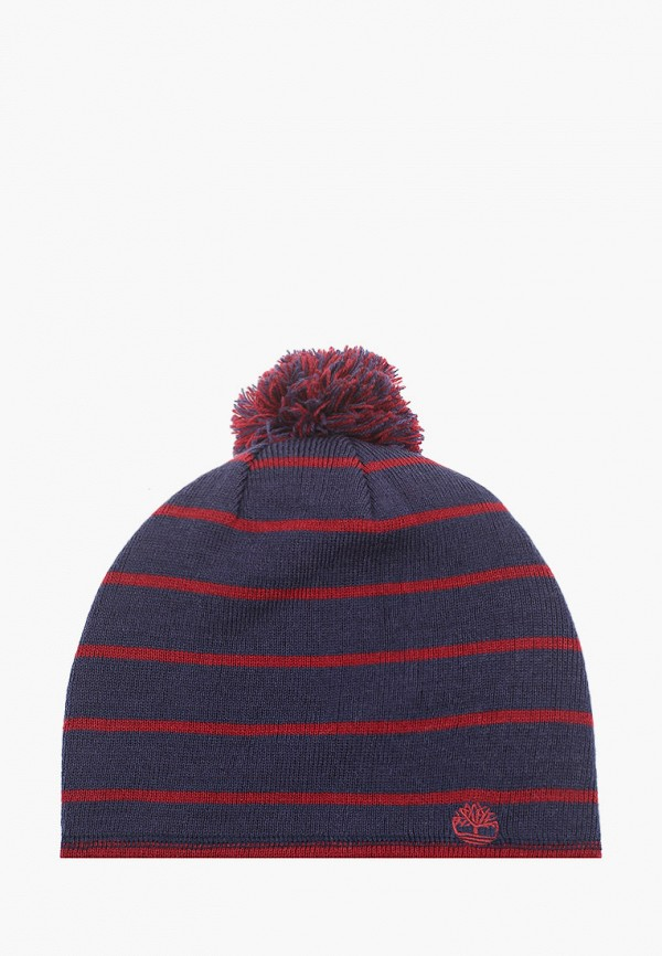 мужская шапка timberland, синяя