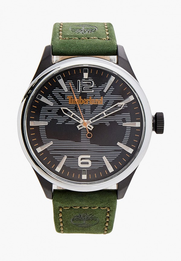 мужские часы timberland, зеленые