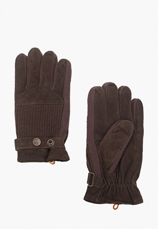 мужские перчатки timberland, коричневые