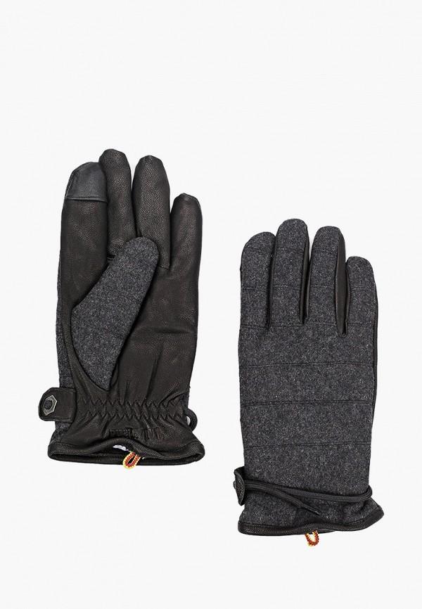 мужские перчатки timberland, серые