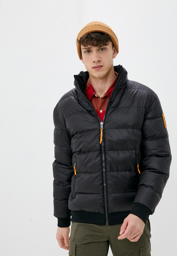 мужская куртка timberland, черная