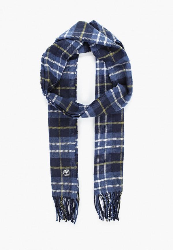 мужской шарф timberland, синий