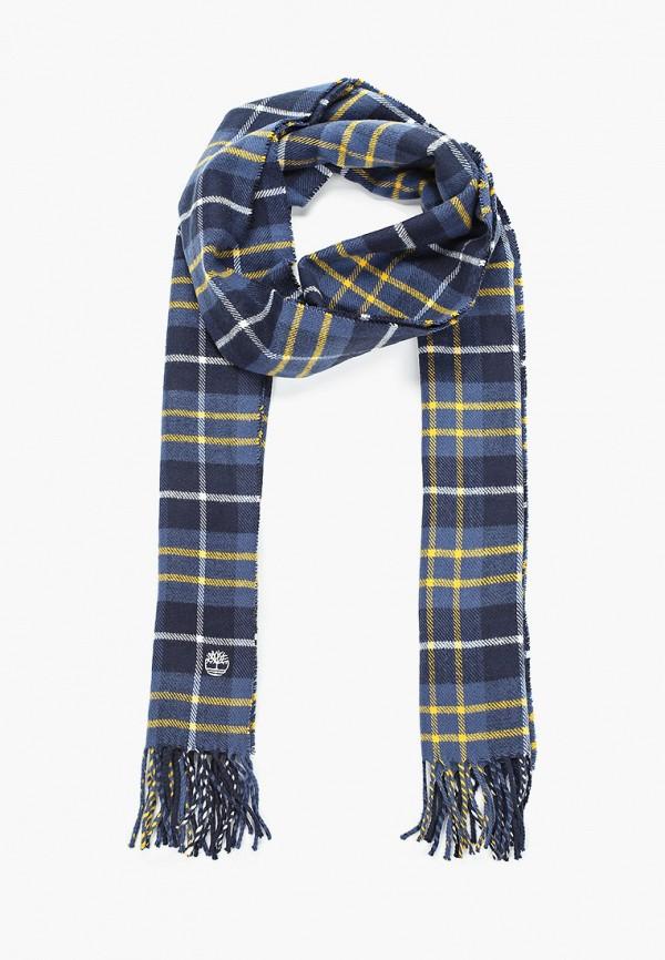 женский шарф timberland, синий