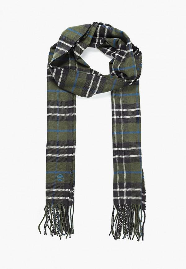 женский шарф timberland, зеленый