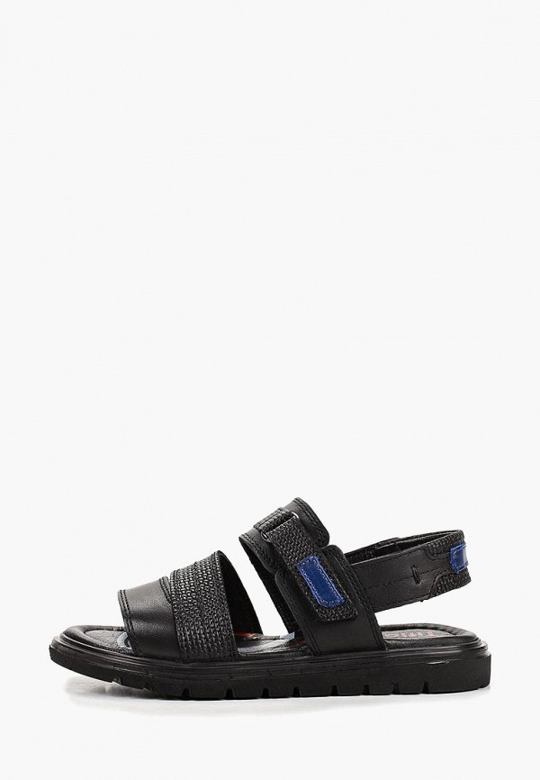 сандалии tiflani для мальчика, черные