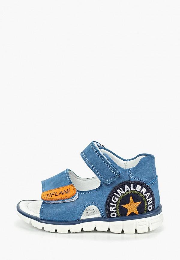 Сандалии Tiflani Tiflani TI011ABEKCR7 полуботинки для мальчика tiflani цвет синий 18p a 8627 030 07 размер 27