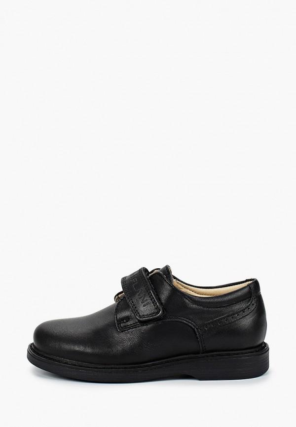 ботинки tiflani для девочки, черные