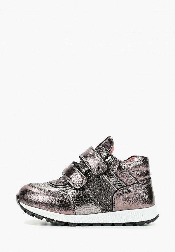 кроссовки tiflani для девочки, серебряные