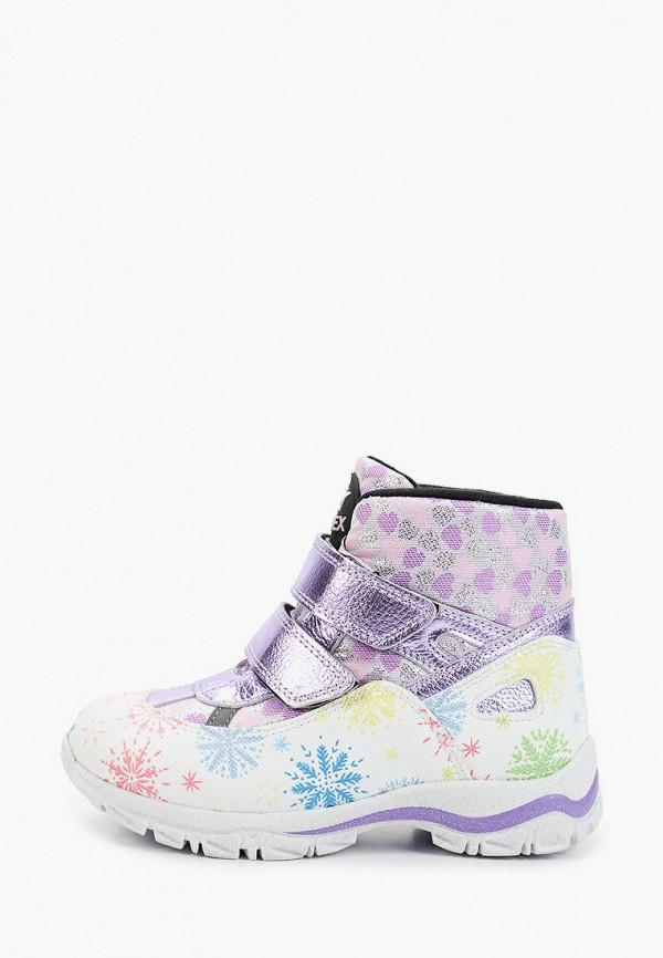 ботинки tiflani для девочки, фиолетовые