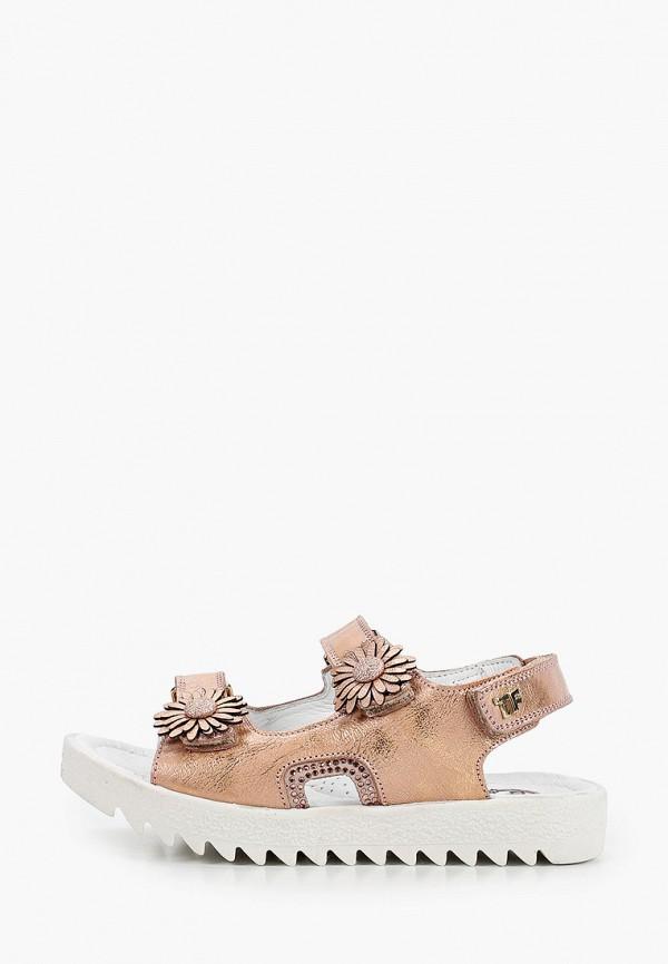 сандалии tiflani для девочки, розовые