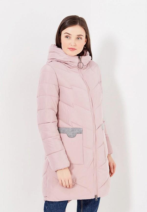 Фото - Куртку утепленная Time For Future розового цвета