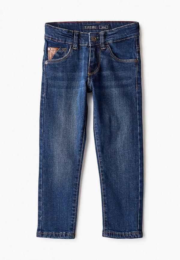 джинсы tiffosi для мальчика, синие