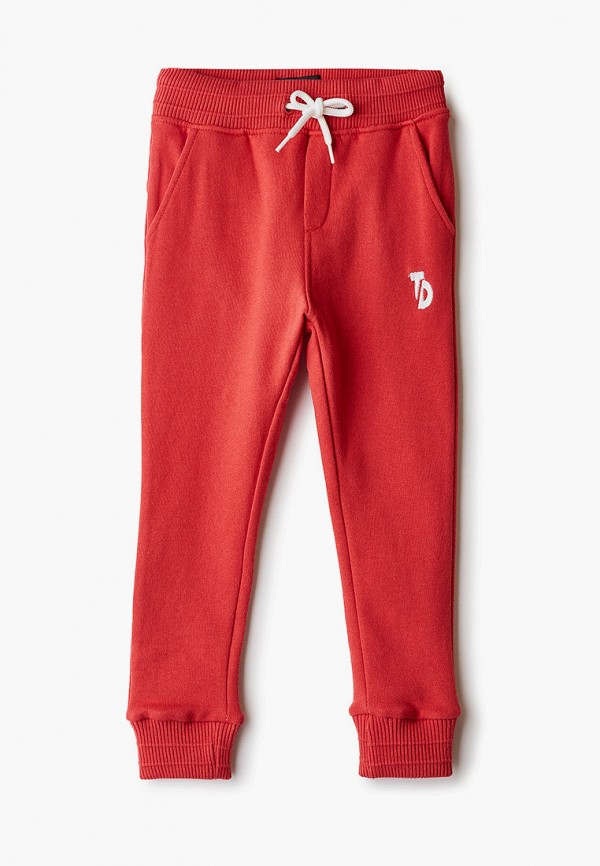спортивные брюки tiffosi для мальчика, красные