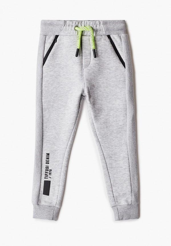 спортивные брюки tiffosi для мальчика, серые