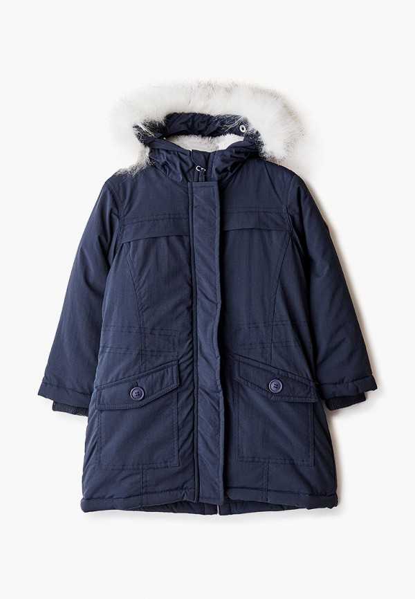 куртка tiffosi для девочки, синяя