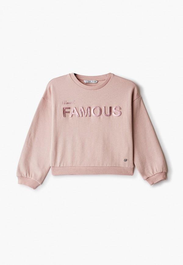 свитшот tiffosi для девочки, розовый