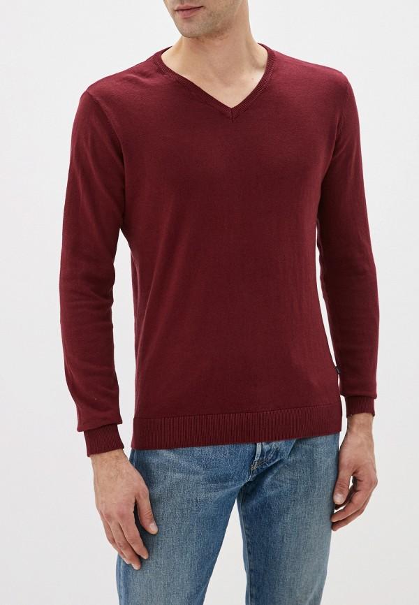 мужской пуловер tiffosi, бордовый