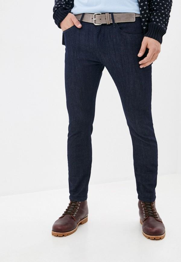 мужские зауженные джинсы tiffosi, синие