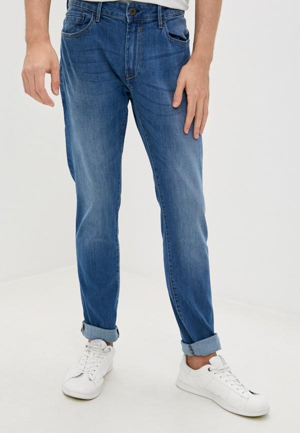 мужские зауженные джинсы tiffosi, голубые