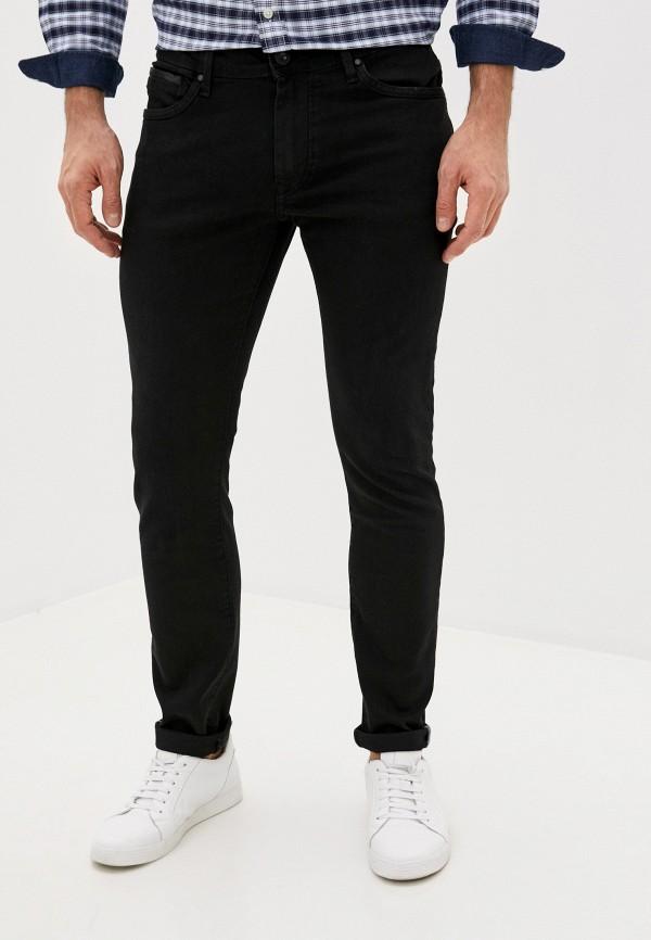 мужские зауженные джинсы tiffosi, черные