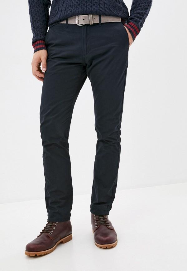 мужские прямые брюки tiffosi, синие