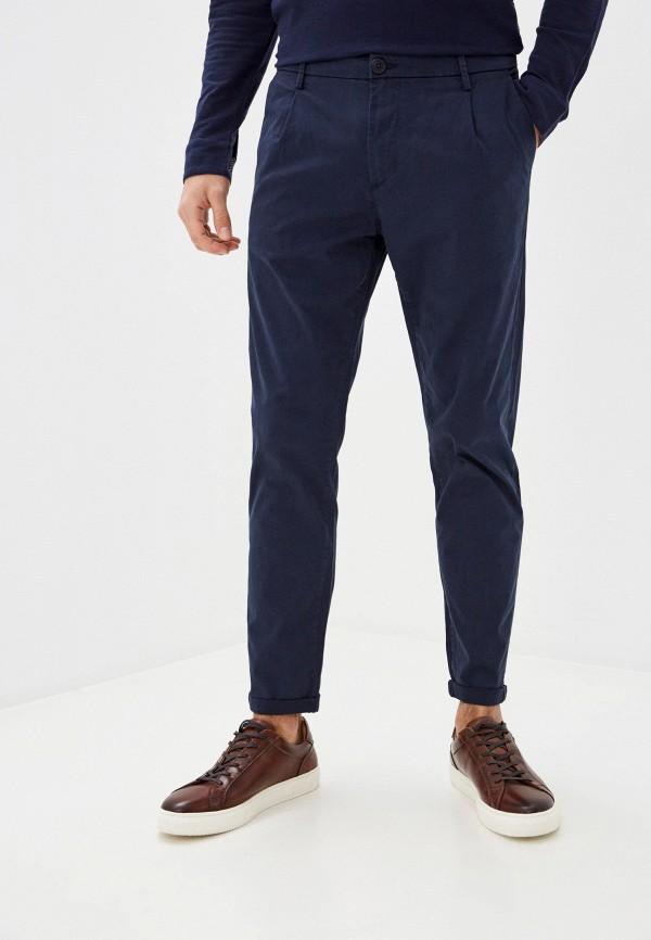 мужские повседневные брюки tiffosi, синие