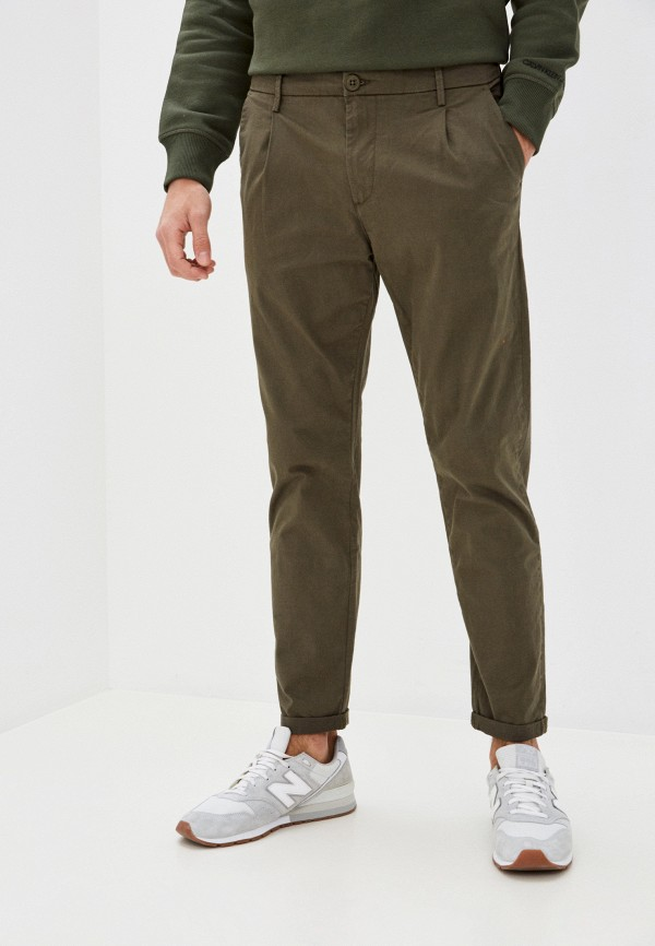 мужские повседневные брюки tiffosi, хаки