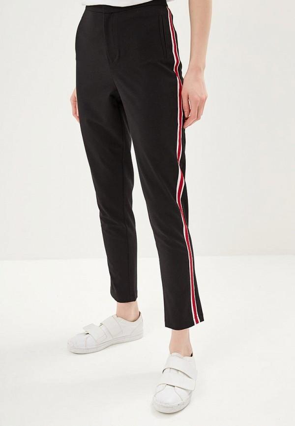 женские повседневные брюки tiffosi, черные