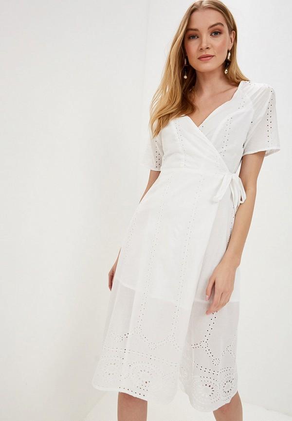 женское платье tiffosi, белое