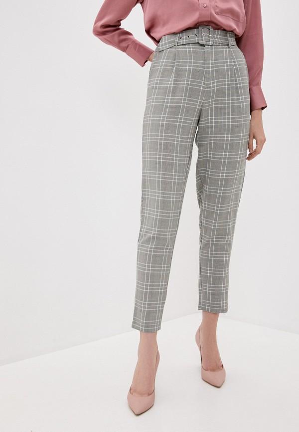женские повседневные брюки tiffosi, серые