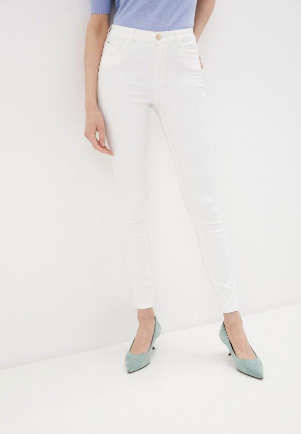 женские повседневные брюки tiffosi, белые