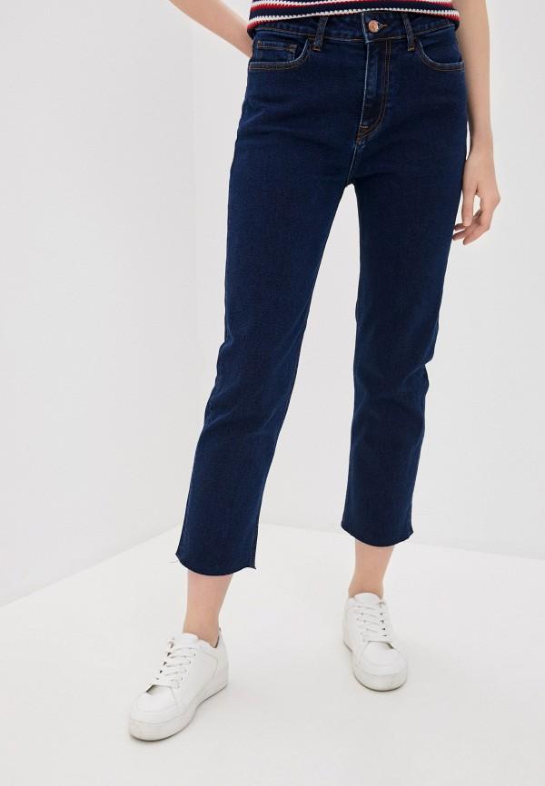 женские прямые джинсы tiffosi, синие