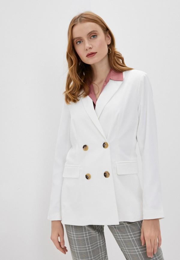 женский пиджак tiffosi, белый