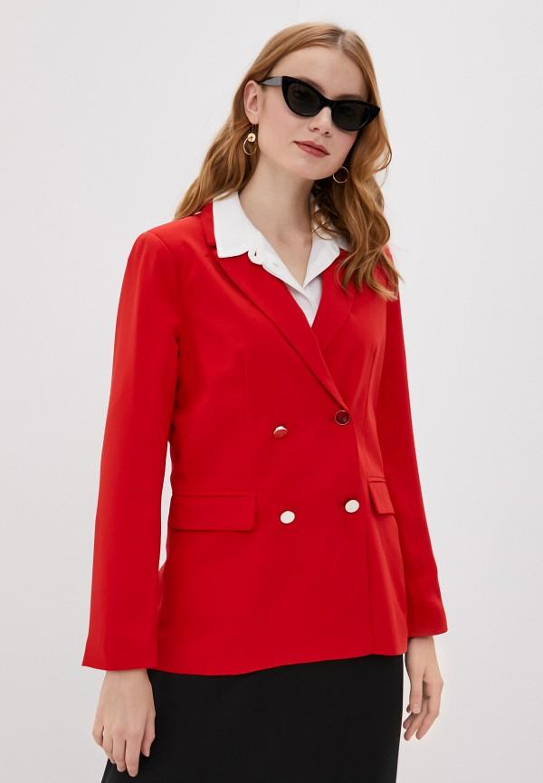 женский пиджак tiffosi, красный