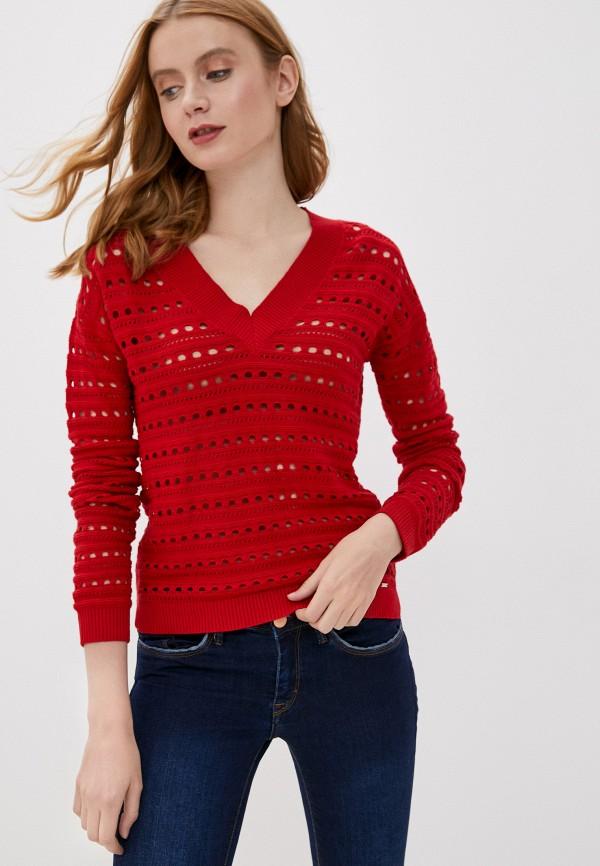 женский пуловер tiffosi, красный