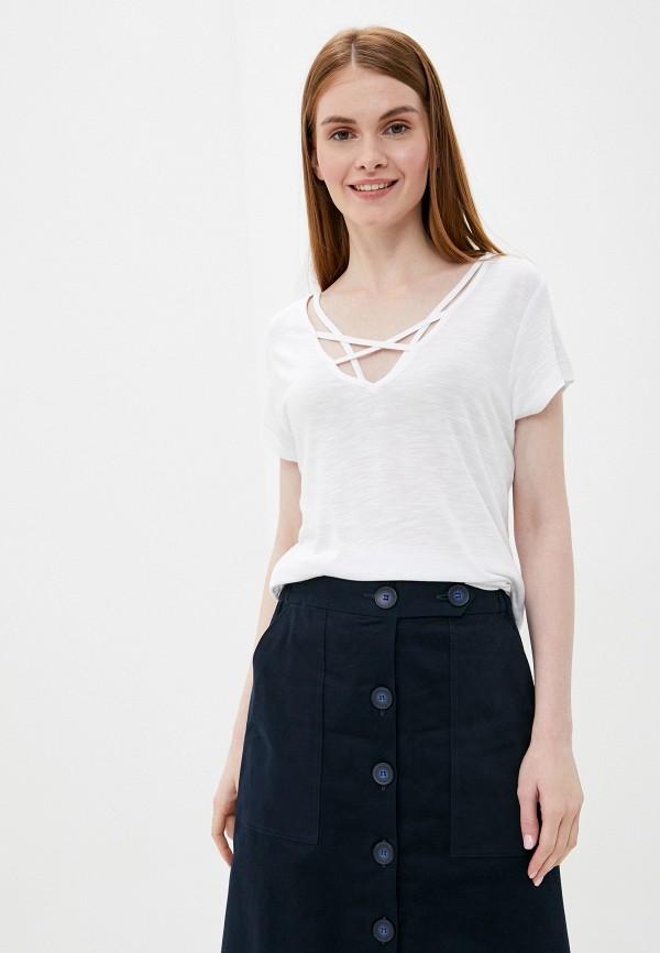 женская футболка tiffosi, белая